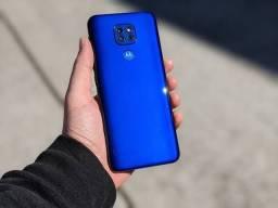 Moto G9 Play OceanBlue - novo AC Troca