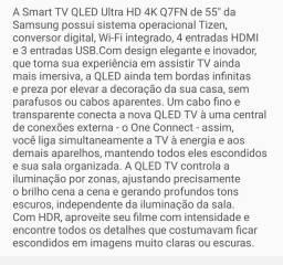 Qled 55 smart tv