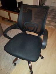 Cadeira de escritório Diretor New Java preta