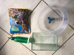 Título do anúncio: Hamster equipamentos rodinha roedores