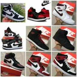 Vendo tênis air Jordan e outros modelos ( 130 com entrega)
