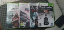 4 jogos p/ Xbox 360 (Originais)