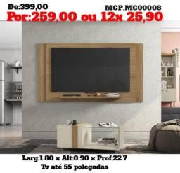 Painel de televisão até 55 Plg-Painel de TV- Sala de Estar- LiquidaemMS