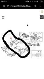 Escapamento silencioso de Ferrari 458 Itália