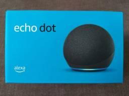 Alexa Echo Dot 4 Original Lacrada (Garantia até 2022)