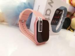 Smartch watch P8, bateria longa, + 200 watchfaces