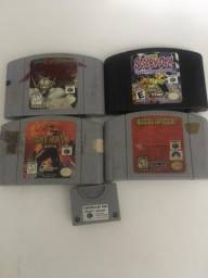 Jogos e memory card N64