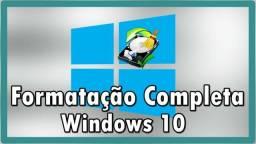 Formataçao Completa com Backup de computdores e Notebook