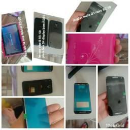 Tablet e celular leia