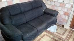2 sofas preto