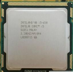 Processador Core I5 - 650 - Socket 1156