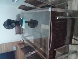 Linda mesa de vidro