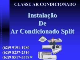 Instalação de ar condicionado split serviço de qualidade