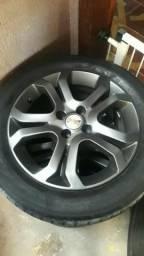 Rodas aro 16 vectra elite pneus 205 55 16
