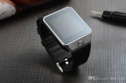 Lançamentos Relogio inteligente Smartwatch Bluetooth Com camera, SD, chip. Aceito cartões