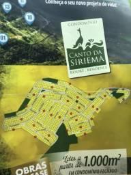 Lote 100m2 condomínio Canto da Siriema Resort Residence