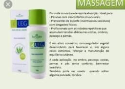 Ileg óleo em gel líquido para massagem