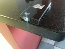 Mini projetor (de bolso) via Wifi,cartao SD e usb