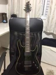 Guitarra Schecter Hellraiser C7 Gloss Black
