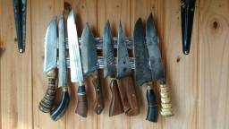 Compro faca artesanal