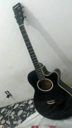 Violão Giannini elétrico