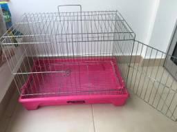Gaiola para porquinho da Índia e coelho