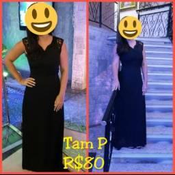 Vestido longo de festa R$60