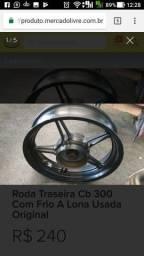 Roda traseira cb300 zerada 2013