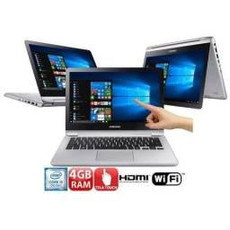 Notebook 2 em 1 Dell Core i5-7200U 8GB 1TB Tela Full HD 15.6? Windows 10 Inspiron I15-5578