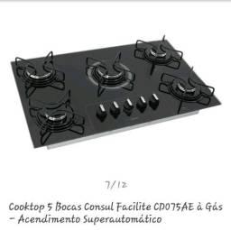 Vendo cooktop consul facilite a gás!