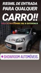 Fiat/UNO 1.4 SPORTING 2013 SÓ NA SHOWROOM AUTOMÓVEIS É FÁCIL FINANCIAR - 2013