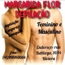 Depilação feminina e masculina especializa em masculina