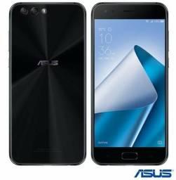 Zenfone 4 Preto Asus 5,5?, Processador Snapdragon SDM660, 4GB de Memória RAM, 64GB
