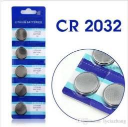 Bateria Lithium Cr2032 3v Placa Mãe - Ideal Para Placa Mãe (Bios), Calculadoras Entre Outr