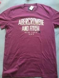 07e20594a6 Camisetas Abercrombie Originais