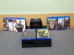 Playstation 4 + 8 Jogos