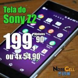 Tela do Sony Z2