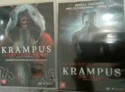 Dvd krampus 1 e 3 novo terror
