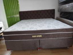 Conjunto Box Super king Sleep Spring Molas Ensacadas Individualmente