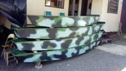 Bote barco canoa fibra 3 metros