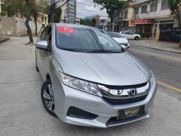 Honda city 2015 45.900 financiado+pequena entrada - 2015