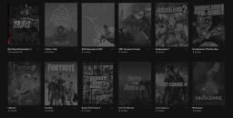 Conta Epic Games + Red Dead Redemption 2 + Gta V + E vários jogos