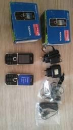Celular C2 Nokia antigo 70 cada ou os 2 por 110