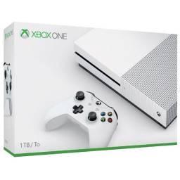 Console Xbox One S 1TB Branco - chegou