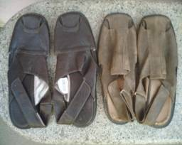 Sandália masculina novas Selo de Controle