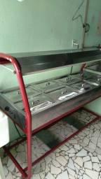 Buffet Restaurante Banho Maria 8 Cubas