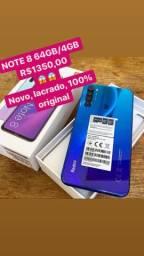 Note 8 64gb/4gb lacrado versão global