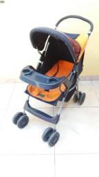 Carrinho de Bebê e cadeira de criança