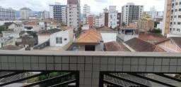 Apartamento com 2 dormitórios para alugar, 96 m² por R$ 2.100,00/mês - Aparecida - Santos/
