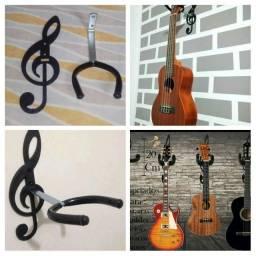 Suporte de parede para instrumentos de cordas